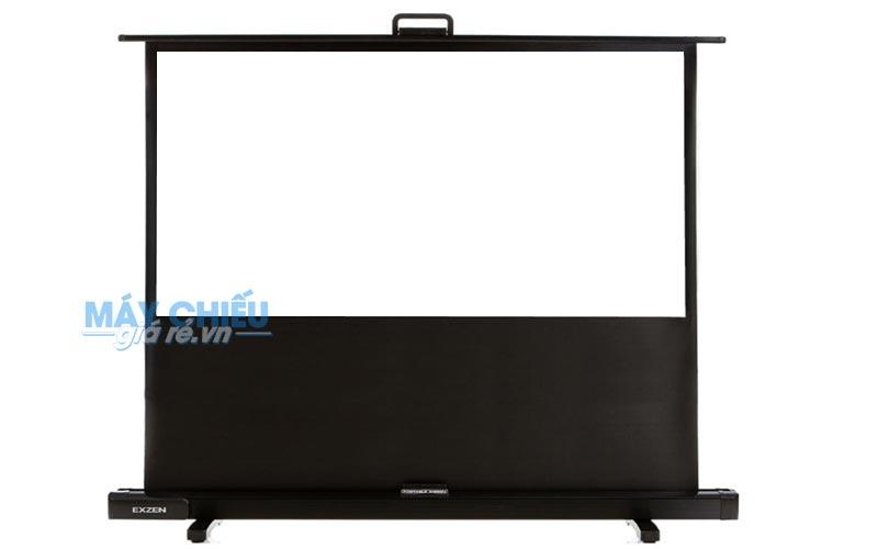 Màn chiếu để sàn EXZEN kích thước 80 inch chính hãng Hàn Quốc