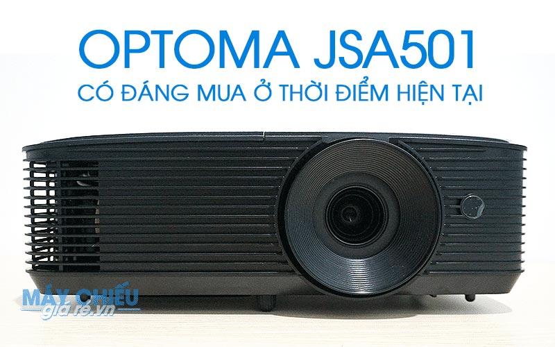Review Optoma JSA501 đánh giá chi tiết về chất lượng và giá bán của máy