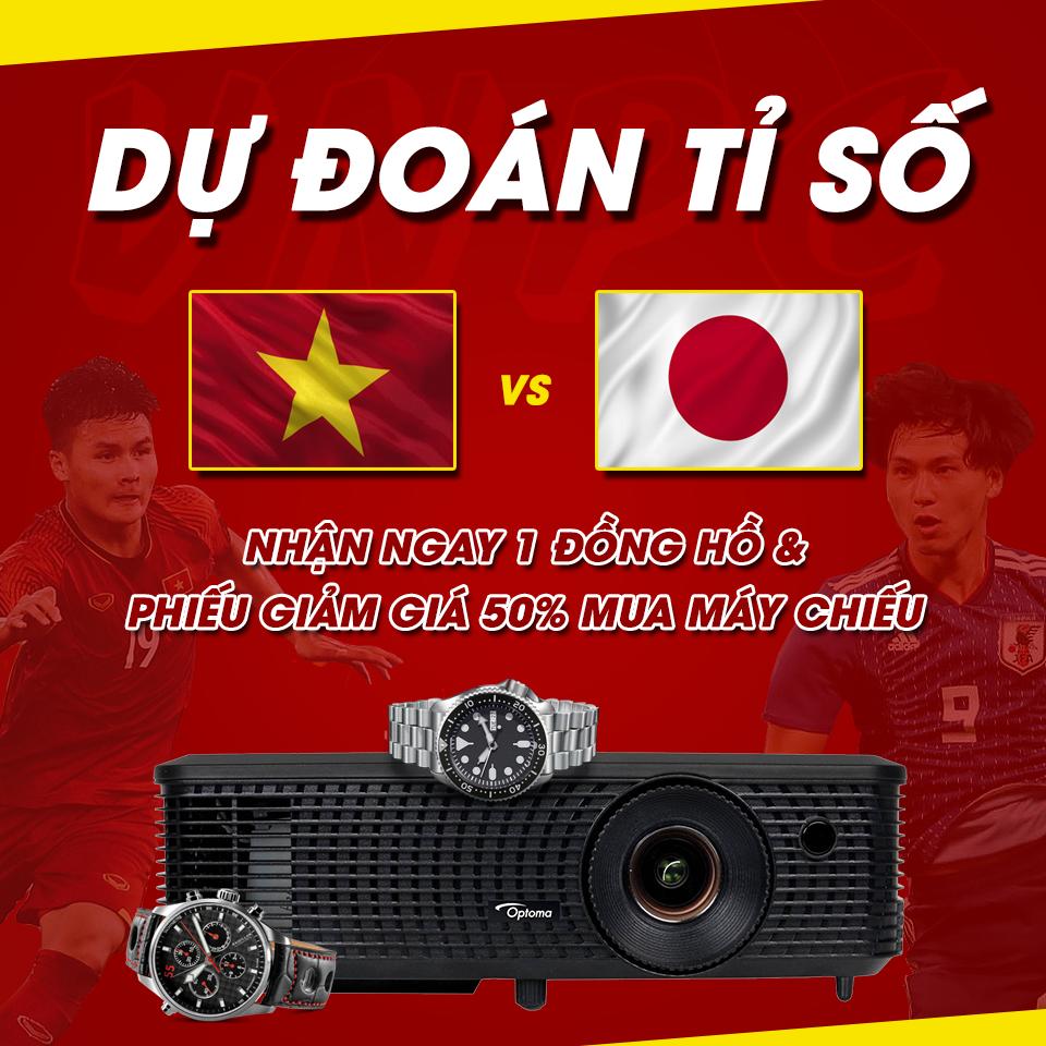 Trung tâm máy chiếu VNPC đồng hành cùng đội tuyển Việt Nam Asian Cup 2019