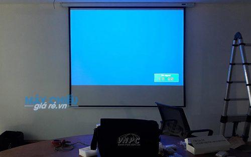 Lắp đặt máy chiếu Panasonic PT-LB303 cho phòng họp tại E.Town