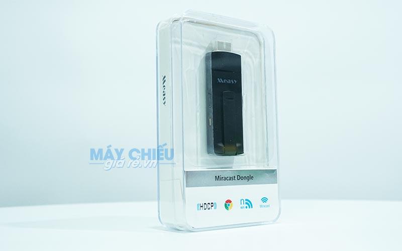 HDMI không dây Ezcast Measy A2W dùng kết nối điện thoại với máy chiếu