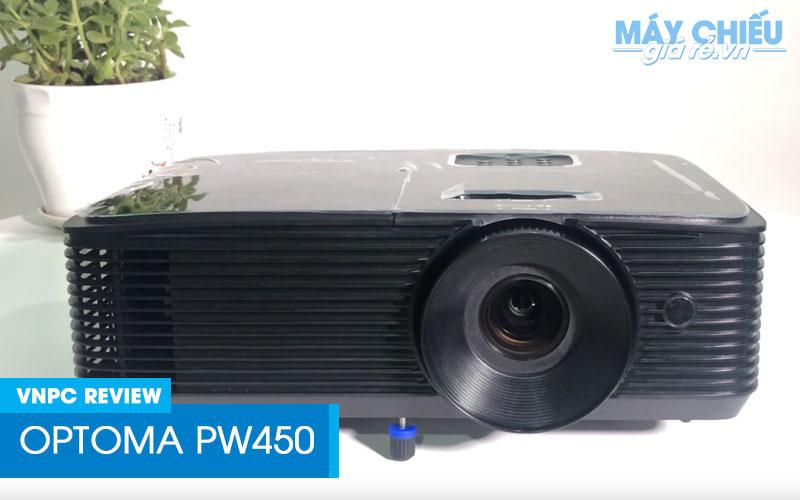 Đánh giá Optoma PW450 Máy chiếu chuẩn HD mới 2019