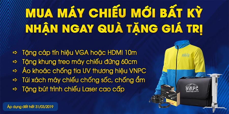 Máy chiếu giá rẻ chỉ từ 6 triệu đồng, khuyến mại màn chiếu, lắp đặt máy chiếu tận nơi