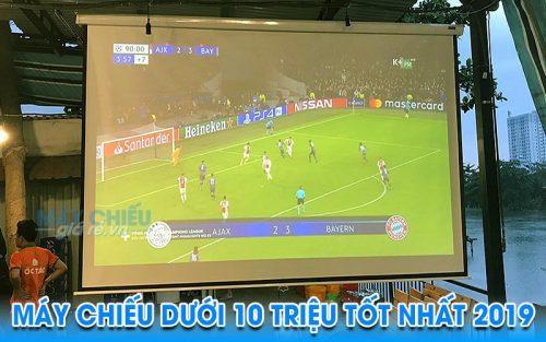 Máy chiếu bóng đá cho quán ăn chỉ từ 10 triệu một bộ