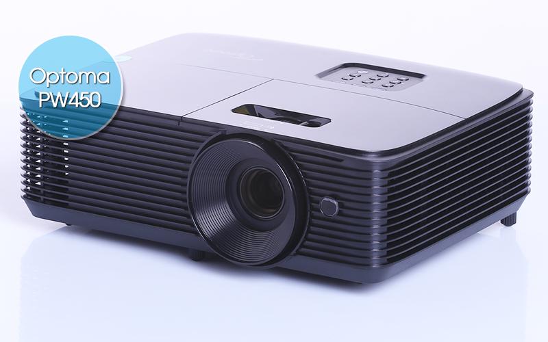 Optoma PW450 được rất nhiều người dùng xem phim HD và bóng đá K+ ưa chuộng