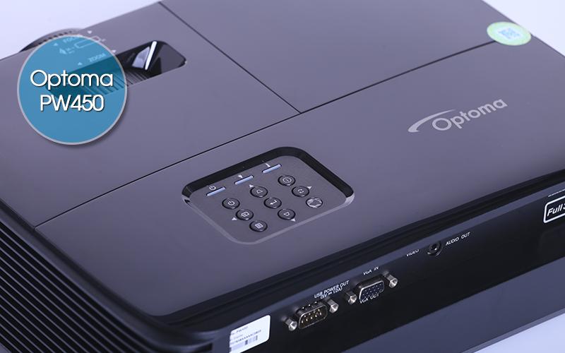 Hệ thống menu PW450 được thiết kế tối giản thuận tiện nhu cầu sử dụng
