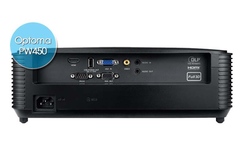 Máy chiếu Optoma PW450 dùng tốt cho nhu cầu chiếu phim gia đình