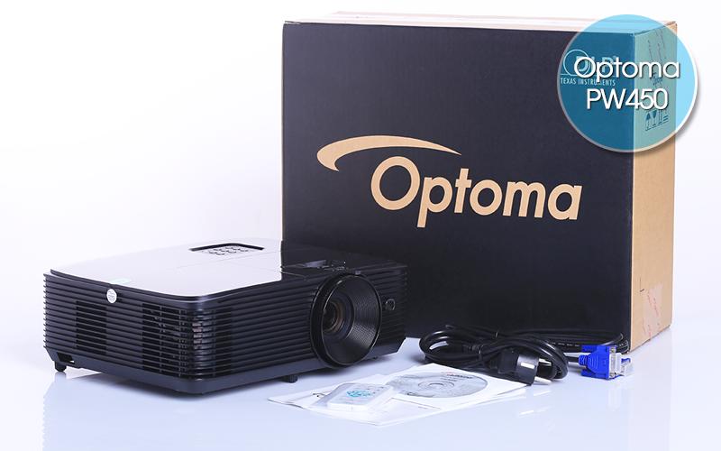 Optoma PW450 là sản phẩm máy chiếu độ nét cao bán chạy nhất hiện nay