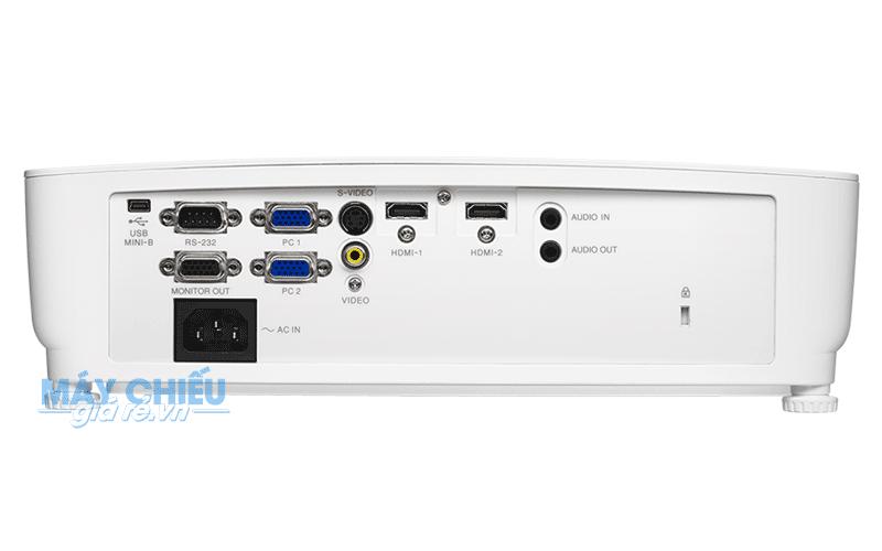 Máy chiếu Vivitek DH268 trang bị đầy đủ và đa dạng cổng kết nối