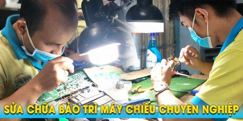 Sửa máy chiếu giá rẻ tận nơi lấy ngay trong ngày tại TpHCM & Hà Nội
