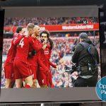 Máy chiếu Optoma PW450 chiếu bóng đá từ đầu K+ rõ nét