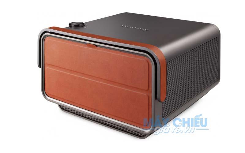 Vỏ máy kim loại của ViewSonic X10-4K mang đến vẻ ngoài cứng cáp và hiện đại hơn