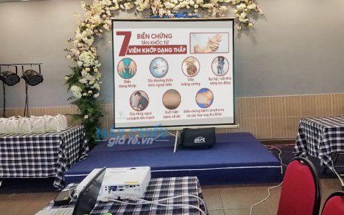 VNPC cho thuê máy chiếu sự kiện tọa đàm về sức khỏe tại TpHCM