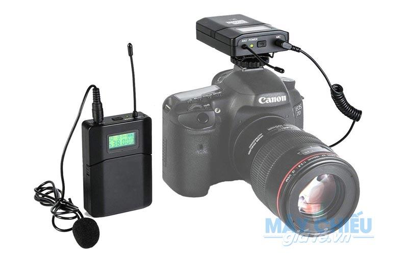 Bộ Micro VNPC chuyên cho thuê thu âm Máy quay chuyên nghiệp