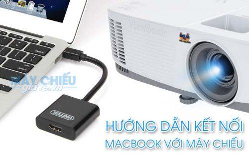 Cách kết nối macbook với máy chiếu đơn giản và hiệu quả nhất