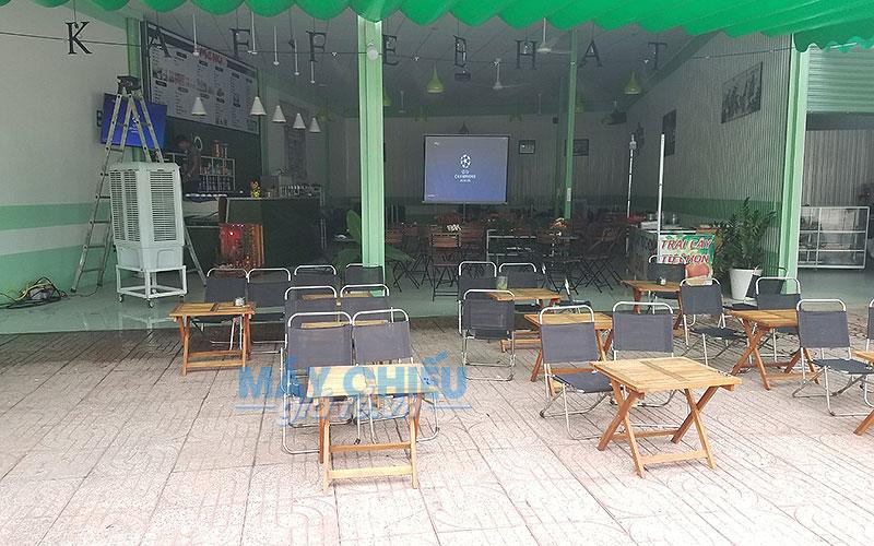 Máy chiếu Optoma PX390 chỉ từ 10 triệu đồng luôn là giải pháp tối ưu cho quán cafe