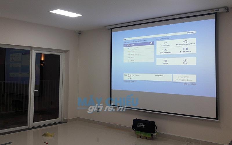Máy chiếu Epson EB-X05 được rất nhiều phòng họp tại TpHCM & Hà Nội lựa chọn