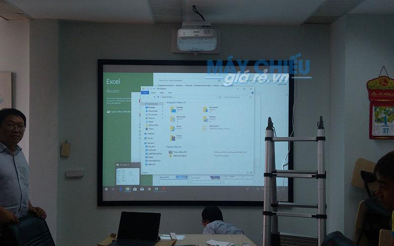 VNPC chuyên lắp đặt máy chiếu siêu gần và bảng tương tác chuyên nghiệp