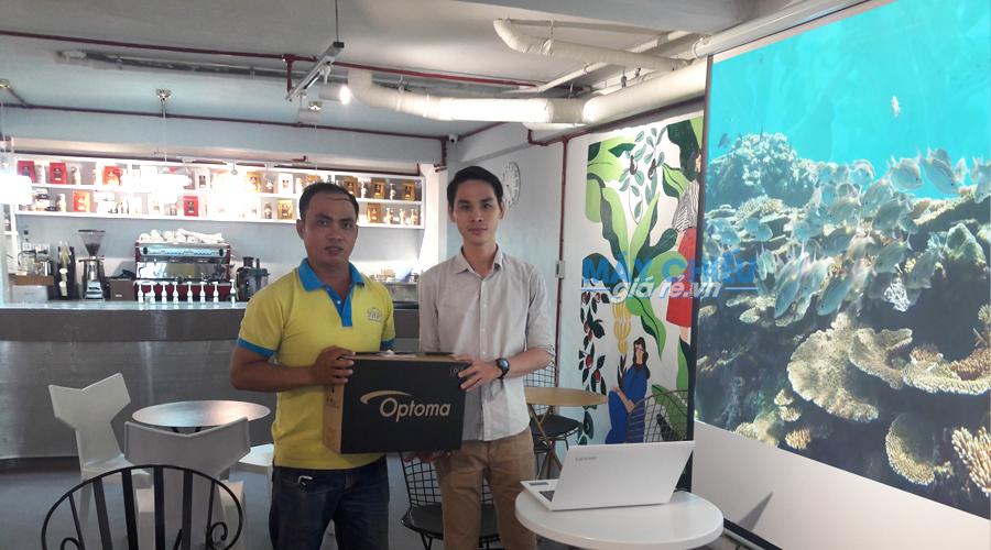 VNPC cung cấp bộ máy chiếu Optoma PW450 chính hãng cho khách