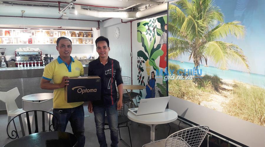 VNPC cung cấp bộ máy chiếu Optoma PS368 chính hãng cho khách