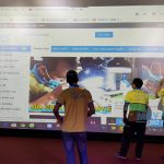 VNPC lắp đặt bộ máy chiếu sân khấu tai khu vui chơi Times City, Hà Nội