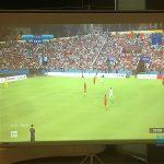 Optoma SA500 phục vụ nhu cầu chiếu bóng đá tại quán cafe ở Hà Nội