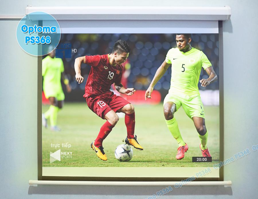 Máy chiếu bóng đá chất lượng cao Optoma PS368 bán chạy nhất hiện nay