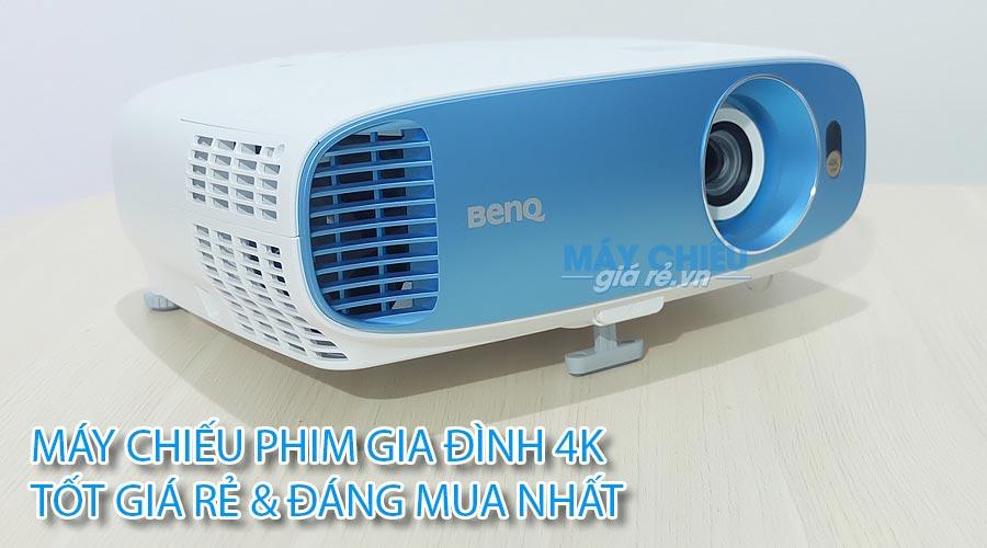 Máy chiếu phim 4K cho gia đình tốt giá rẻ nhất tại Maychieugiare.vn