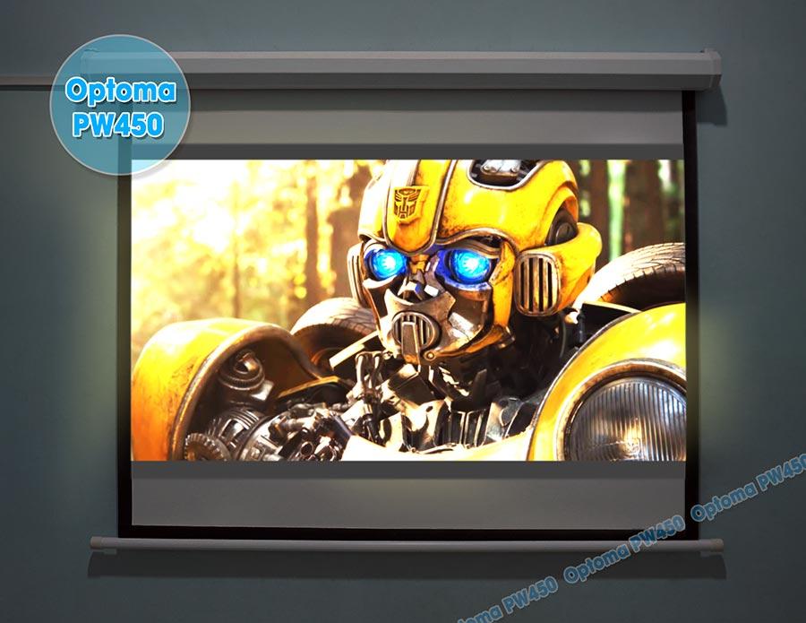 Máy chiếu phim gia đình phân giải HD giá rẻ Optoma PW450