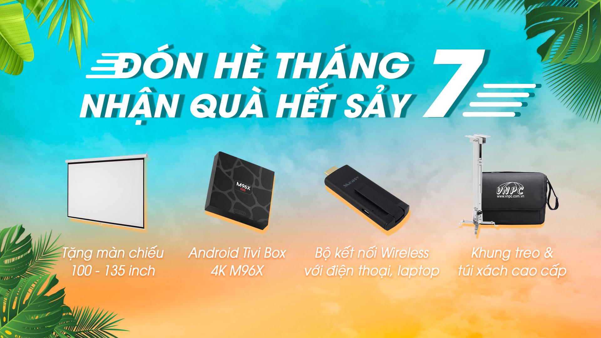 Khuyến mại máy chiếu giá rẻ tại Trung Tâm Máy Chiếu Việt Nam VNPC