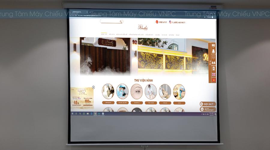 Lắp đặt máy chiếu dạy học Epson EB-X05