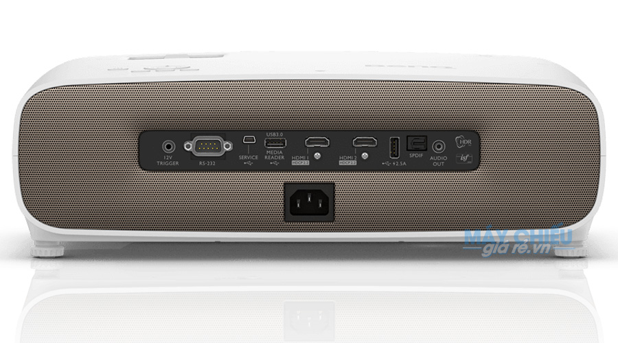 Máy chiếu BenQ W2700 độ có 2 cổng HDMI