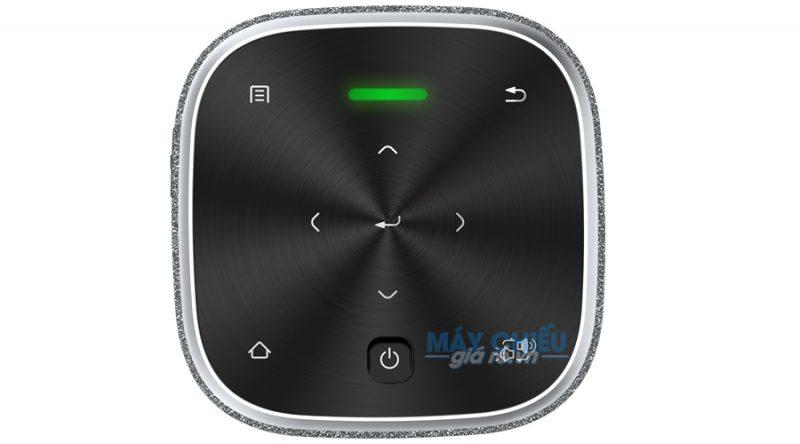 Máy chiếu Vivitek Qumi Z1V thiết kế phím cảm ứng