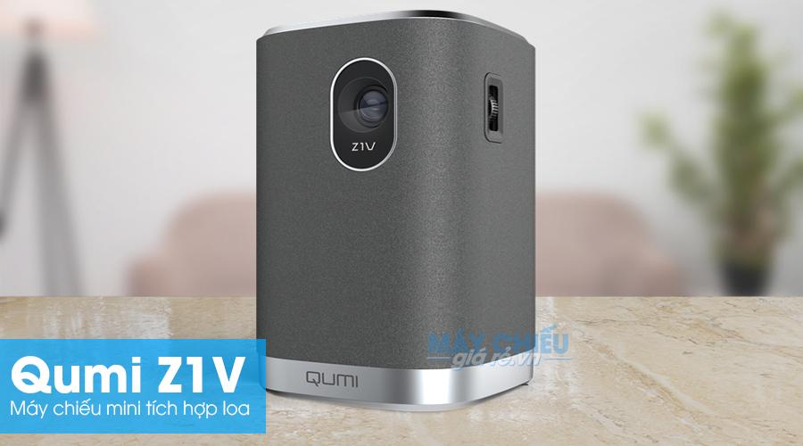 Máy chiếu mini Qumi Z1V model mới ra mắt 2019