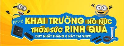 Khuyến mại máy chiếu tháng 8 tại VNPC