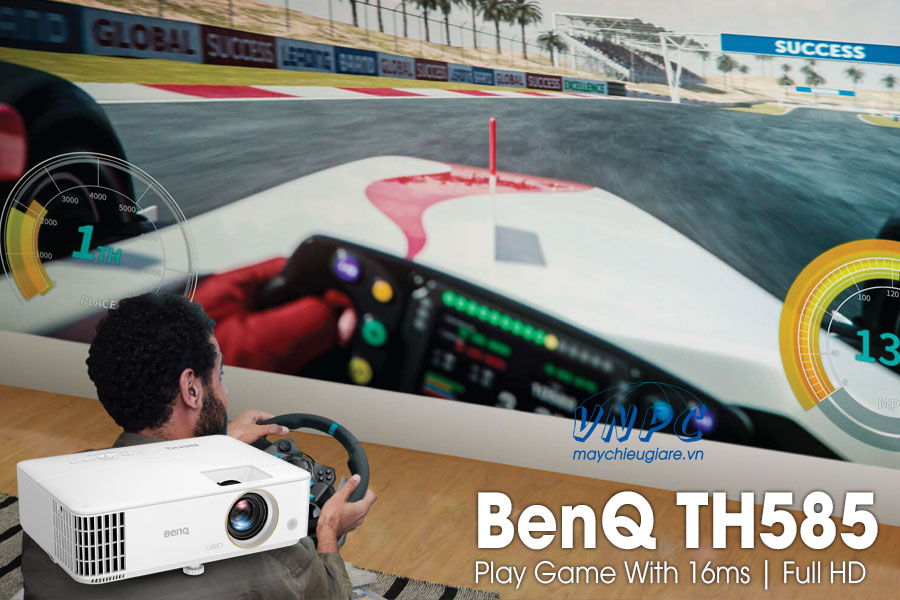 BenQ TH585 máy chiếu chơi game Full HD 3500Lumens