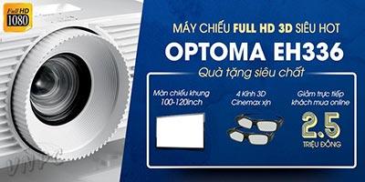Máy chiếu Full HD 3D Optoma EH336 giá rẻ tại VNPC