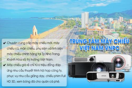Máy chiếu giá rẻ tại Nha Trang do VNPC cung cấp