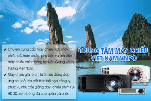 Máy chiếu giá rẻ tại Kiên Giang do VNPC cung cấp