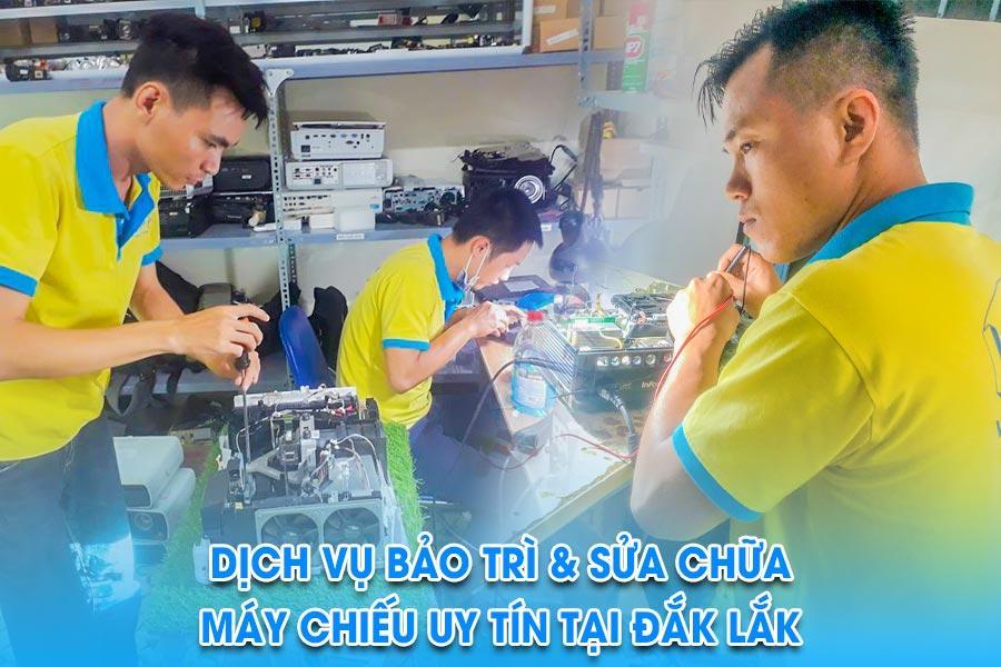 Sửa máy chiếu tại Đắk Lắk giá rẻ