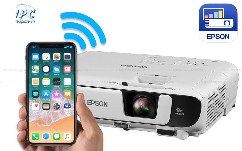kết nối điện thoại với máy chiếu Epson