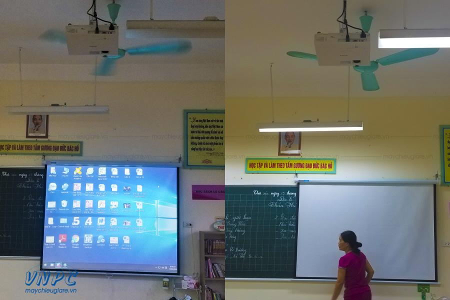 Lắp đặt máy chiếu Sony VPL-DX100 phục vụ giảng dạy tại Hà Nội