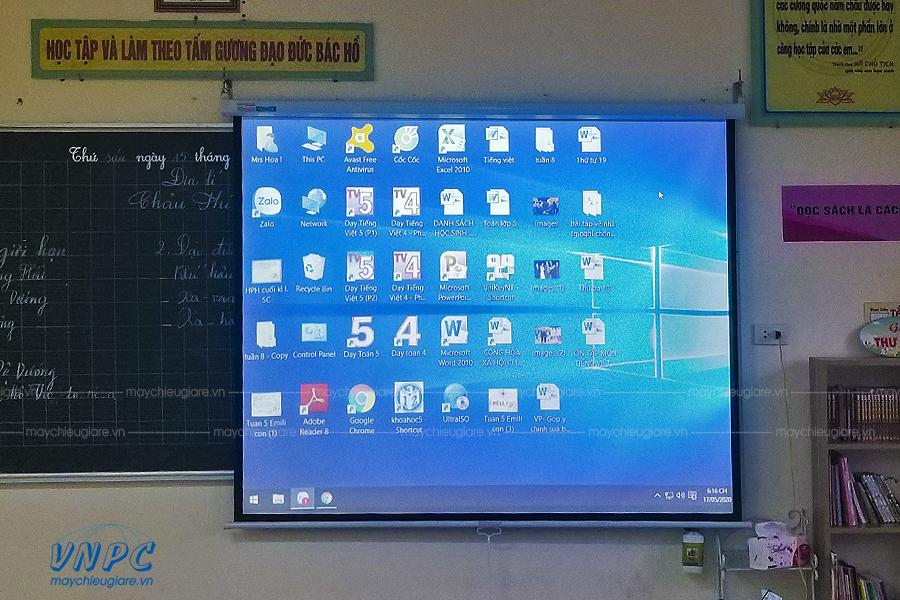 Lắp đặt Sony VPL-DX100 phục vụ giảng dạy tại Hà Nội