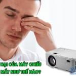 Tác hại của máy chiếu đến thị lực