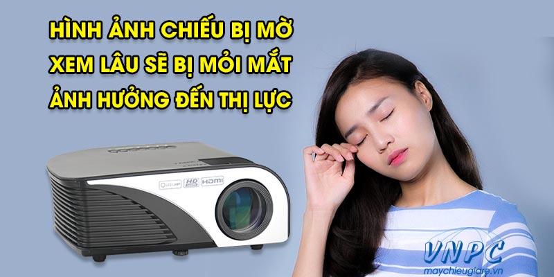 Tác hại của máy chiếu đến thị lực gây mỏi mắt
