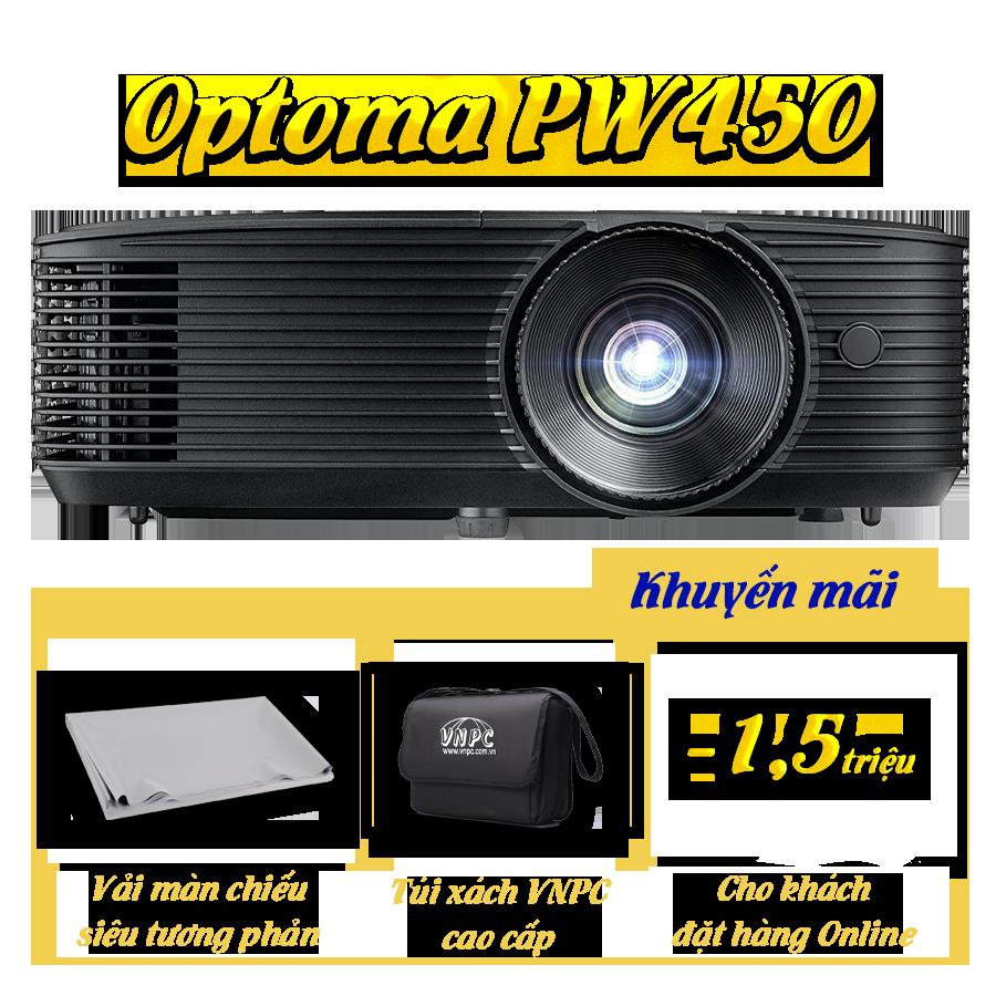 Khuyến mại máy chiếu Optoma PW450
