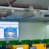 VNPC lắp đặt máy chiếu Optoma PS368 và màn chiếu 120inch