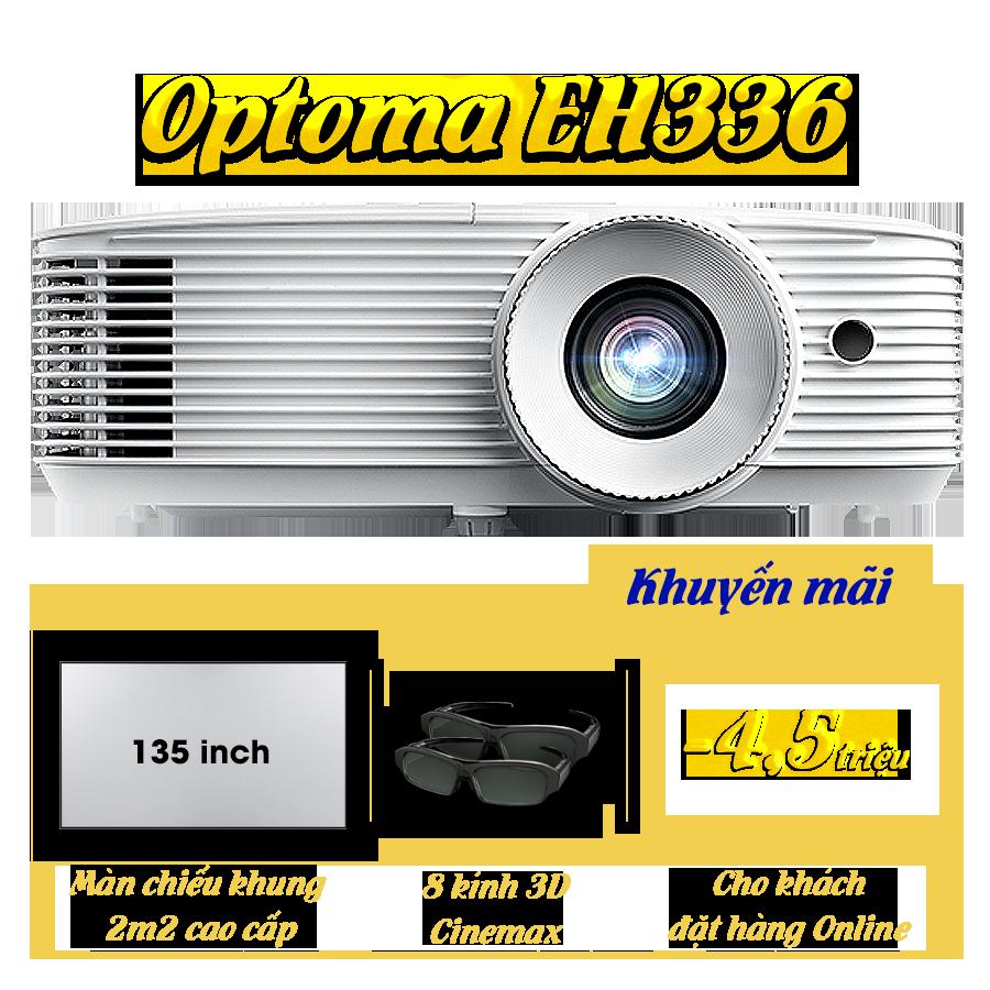 Khuyến mại máy chiếu Optoma EH336
