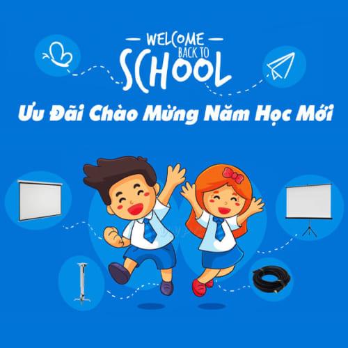 Khuyến mại máy chiếu chào mừng năm học mới