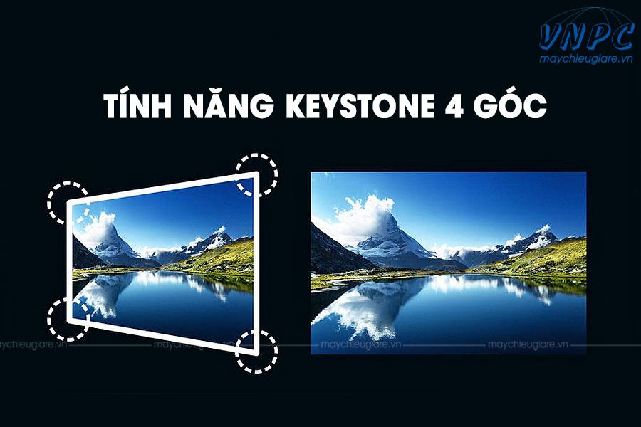 Tính năng keystone 4 goc